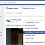 Salveaza marcaje pe Facebook