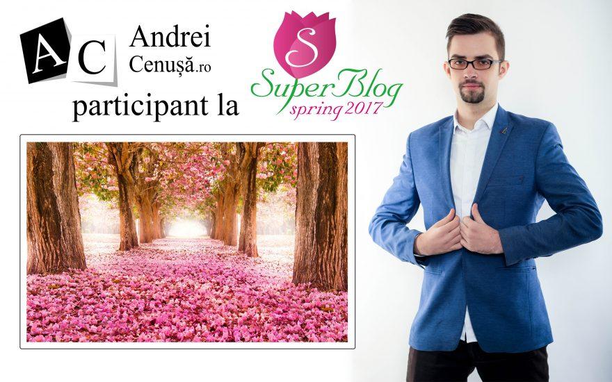 Andrei Cenusa participant la Spring Super Blog 2017