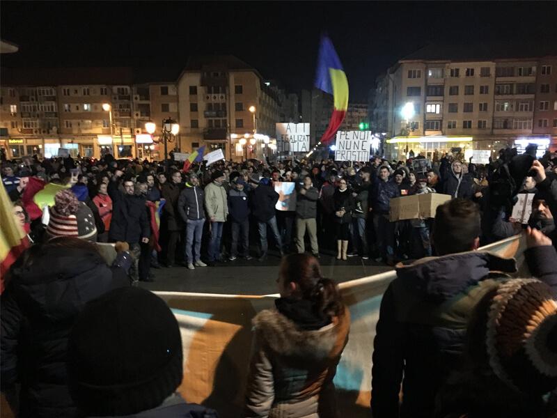 Protest Suceava 01.02.2017