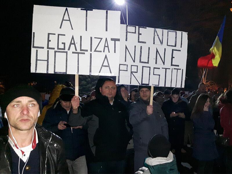 Protest la Suceava 2 Februarie 2017
