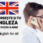 Engleza, limba mea preferată