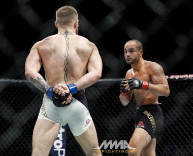 Conor Mcgregor in ring