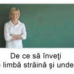 De ce să înveţi o limbă străină şi unde?