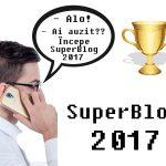 Start SuperBlog 2017 şi scrisul articolelor contra cronometru