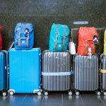 Bagajele copiilor pentru o calatorie cu avionul