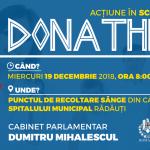 Donează sânge în scop caritabil în cadrul evenimentului DONATHLON la Rădăuţi