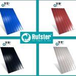 4 modele de tablă cutată de calitate superioară de la RUFSTER