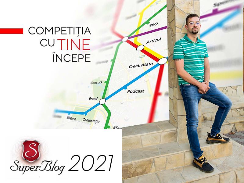 Andrei Cenusa inscriere Super Blog 2021